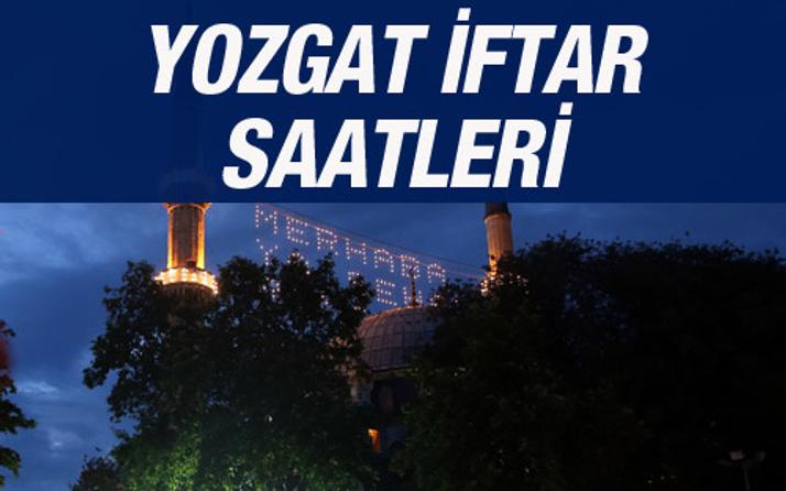 Yozgat iftar vakti 2016 sahur saatleri ezan vakitleri
