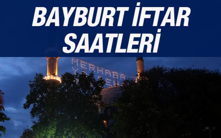 Bayburt iftar vakti 2016 sahur saatleri ezan vakitleri