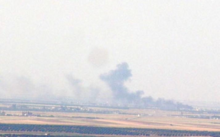 Hatay Yayladağı'na Suriye tarafından saldırı