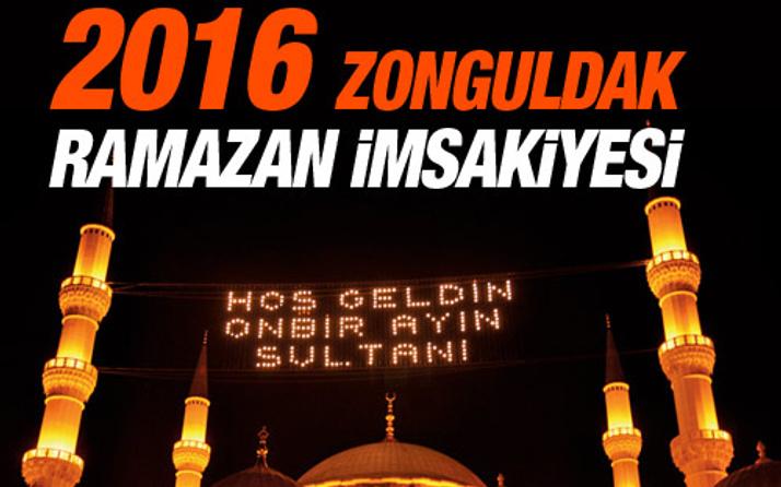 Zonguldak iftar vakti sahur saatleri İmsakiye 2016