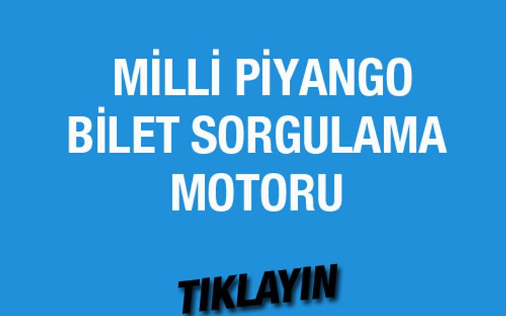 Milli Piyango çekiliş sonuçları bilet sorgulama 29 Temmuz 2016