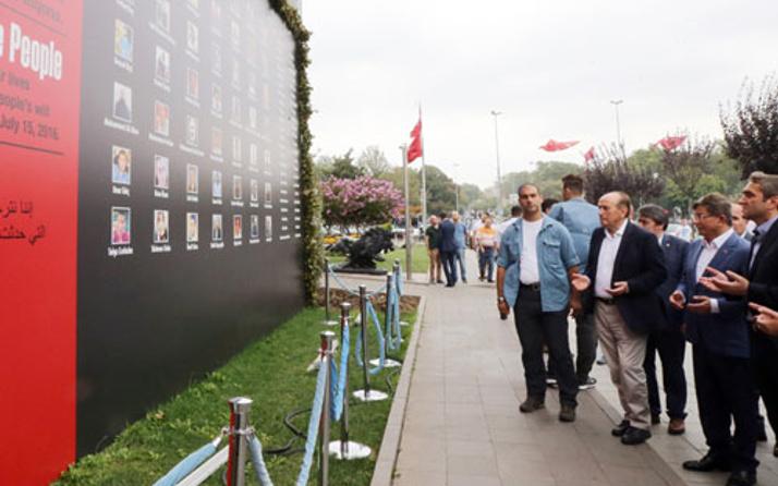 Davutoğlu'ndan Topbaş'a 15 Temmuz taziye ziyareti