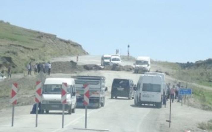 Tunceli-Erzincan yolu kapatıldı!