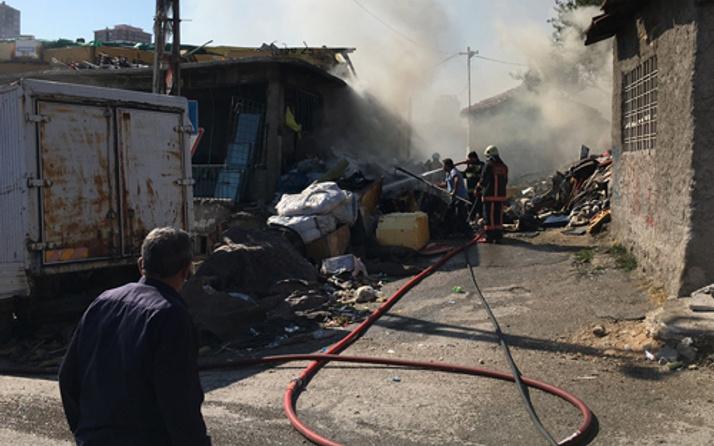 Ankara'da hareketli dakikalar! Yıkım ekibine ateş açıldı