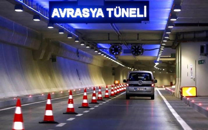 Avrasya Tüneli'nden 24 saat geçişler başladı