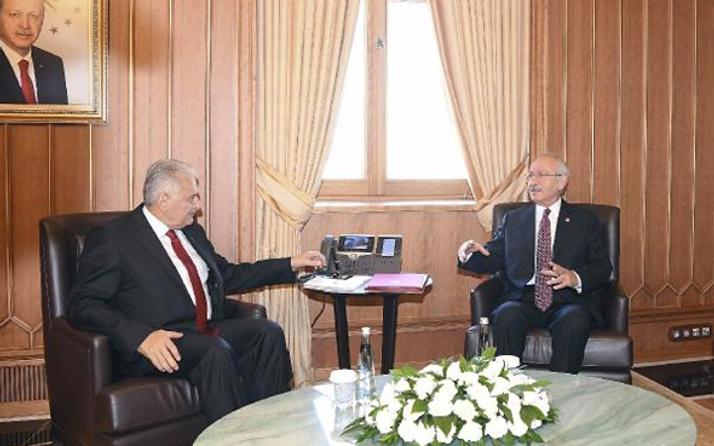 Yıldırım-Kılıçdaroğlu görüşmesi sonrası açıklama