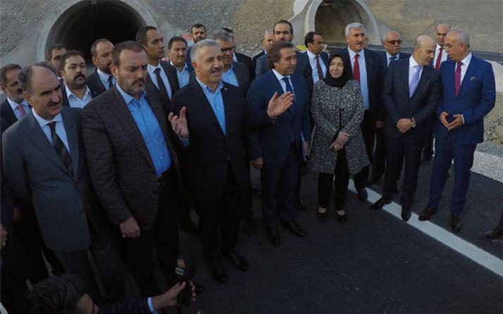 Bakan Arslan'dan iki tünel müjdesi daha