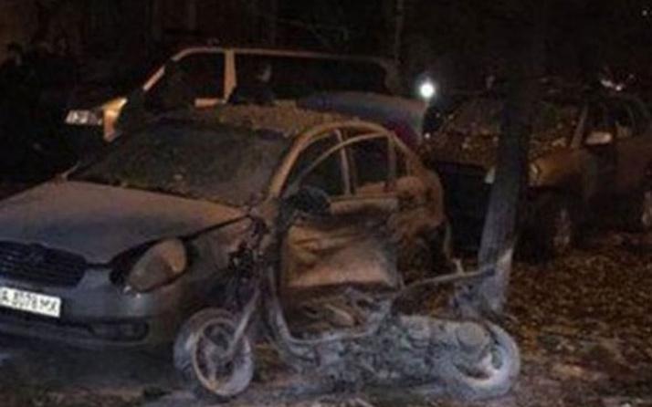 Kiev'de patlama! Ölü ve yaralılar var