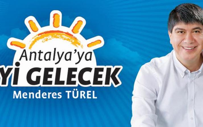 Menderes Türel, İYİ Parti'ye 'logo' davası açacak mı? İlk kez konuştu