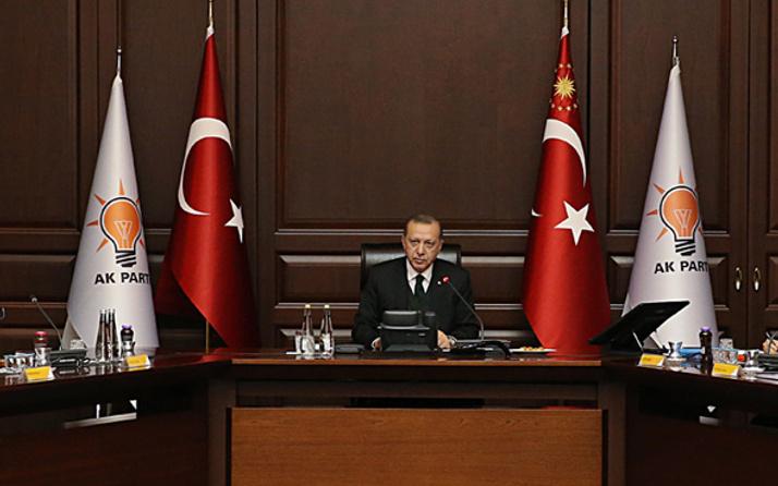 AK Parti'de önemli toplantı