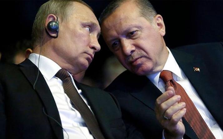 Erdoğan ve Putin'den telefonda Suriye zirvesi