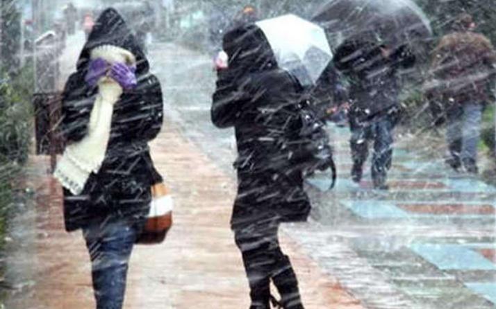 Son hava durumu İstanbul için uyarı soğuk hava geliyor