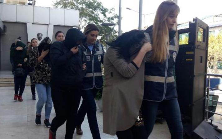 Lüks villadaki eş değiştirme partisi! Kırgız kızlar çıktı