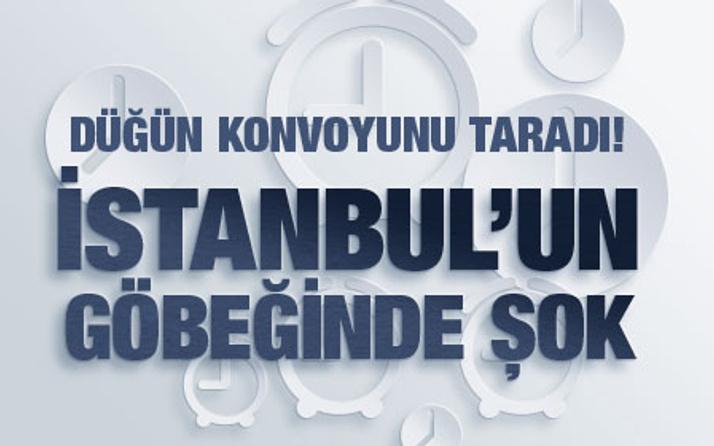 İstanbul'da gelin konvoyuna ateş açıldı: 7 yaralı
