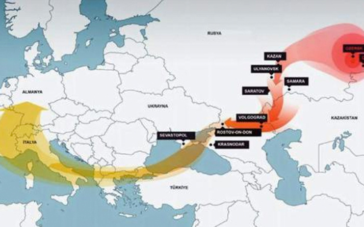 İstanbul'un üstündeki radyasyon bulutları tehlikeli mi?