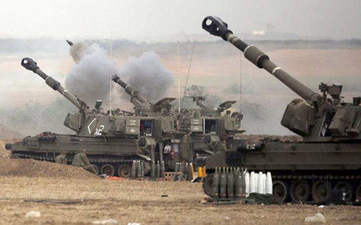 İsrail'den Gazze'deki tarım arazilerine top ateşi