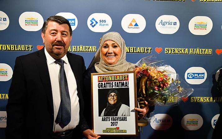 İsveç'te yılın kahramanı bir Türk kadını oldu