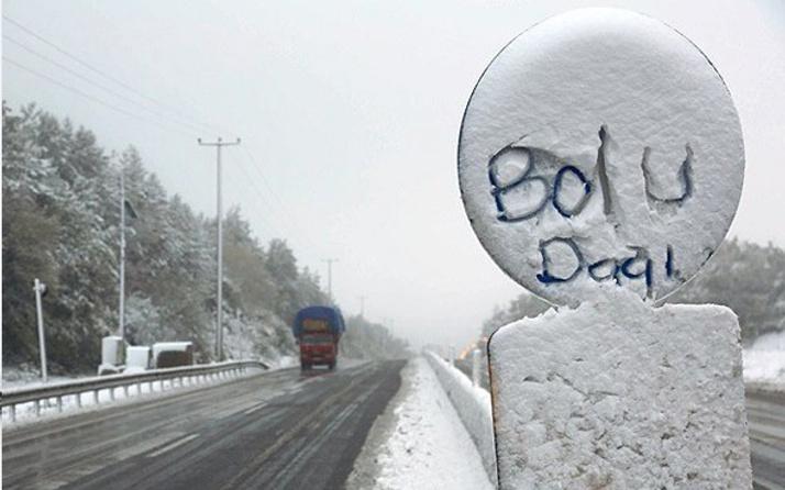 Bolu hava durumu okulları tatil ettirecek kar yağışı