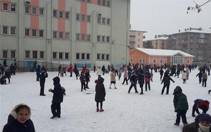 Çankırı hava durumu okulları tatil ettirecek kar yağışı