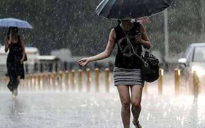 Son hava durumu raporu İstanbul'a sağanak geliyor!