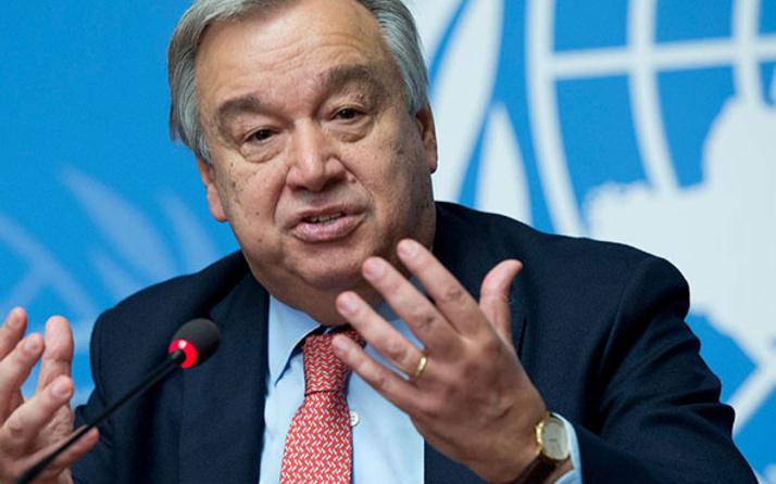 BM Genel Sekreteri'nden endişe yaratan 2018 mesajı!