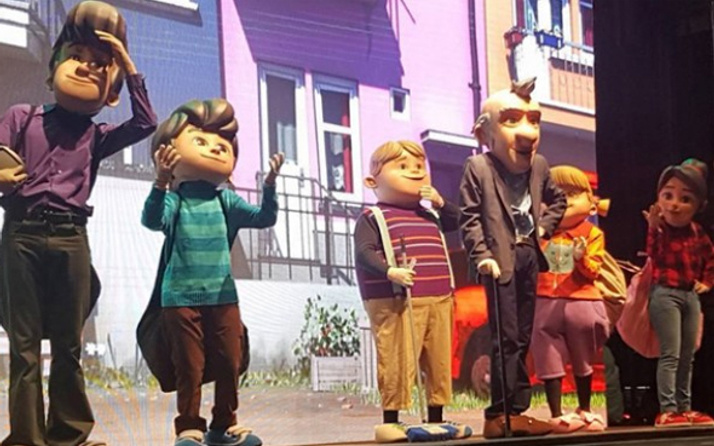 Rafadan Tayfa İstanbul'da çocuklarla buluştu