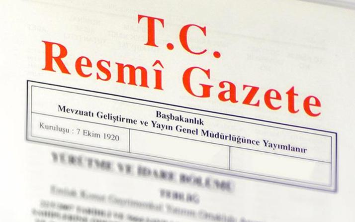 Referandum seçim takvimi Resmi Gazete'de yayımlandı