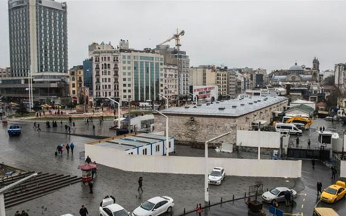 Taksim Camisi için flaş gelişme