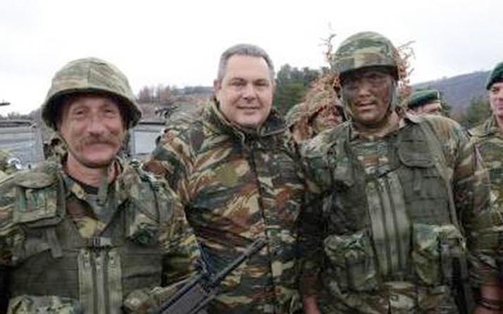 Yunanistan Ege adalarında milis kuvvetleri kurdu