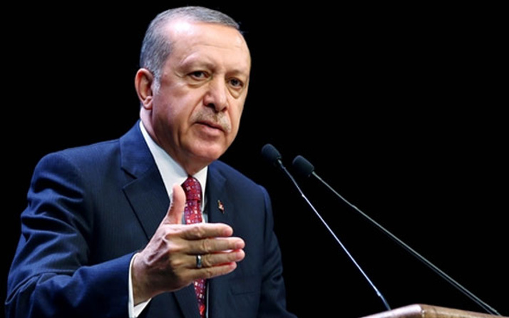 Erdoğan'dan İsviçre'ye pankart tepkisi
