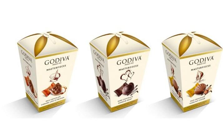 Godiva'nın yeni çikolataları raflarda