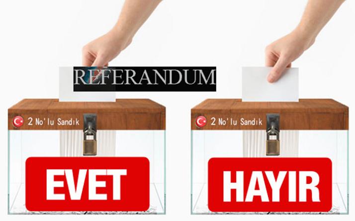 Andy-Ar en son referandum anketi sonucu bıçak sırtı!