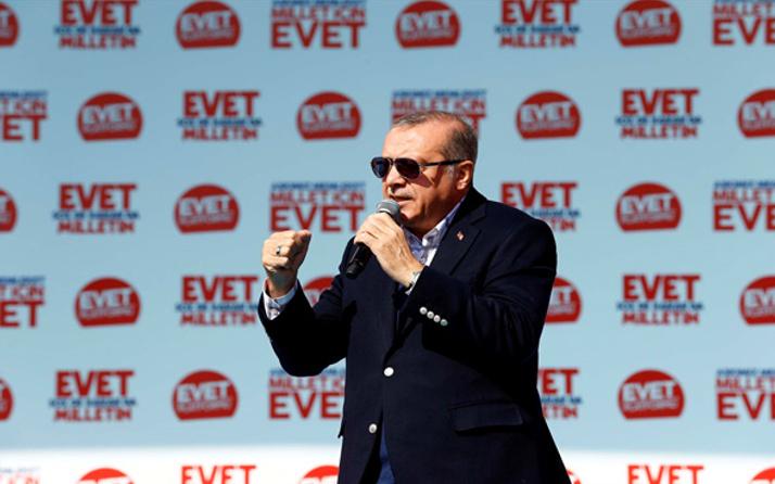Erdoğan: Bir referanduma daha gideriz!
