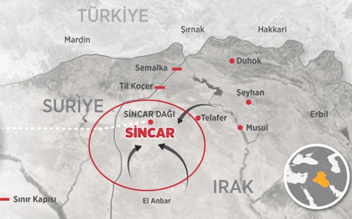 TSK'nın vurduğu Sincar'da PKK'dan yeni adım