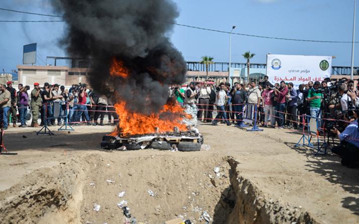 Gazze'de 'uyuşturucu ticaretine' idam cezası