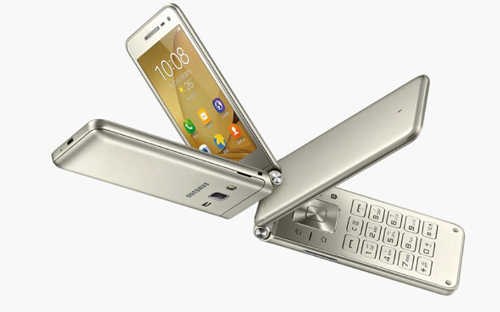 Samsung Galaxy S8'den sonra Galaxy Folder için düğmeye bastı!