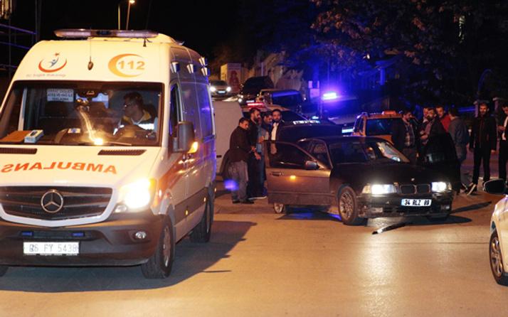 Ankara'da silahlı çatışma ölü ve yaralı var