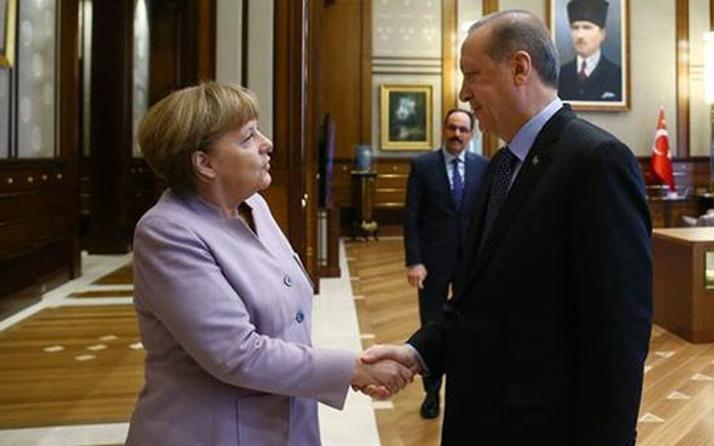 Merkel Erdoğan'dan izin isteyecek!