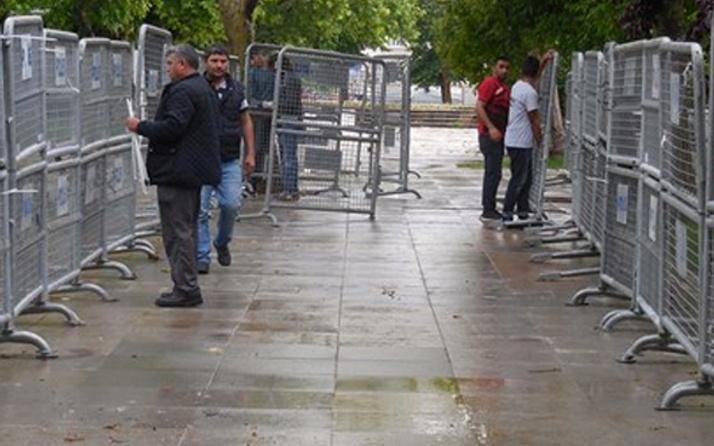 Taksim Gezi Parkı kapatıldı