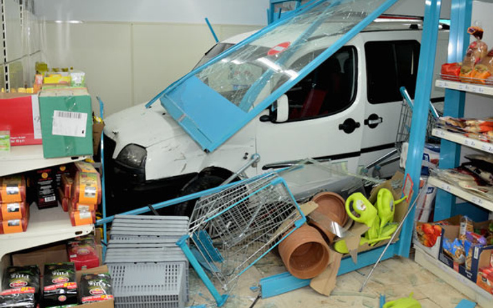 Ankara'da akıllara durgunluk veren kaza