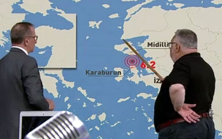 Deprem olacak yer! Celal Şengör : Balıkesir, Ayvacık, Altınoluk ve...