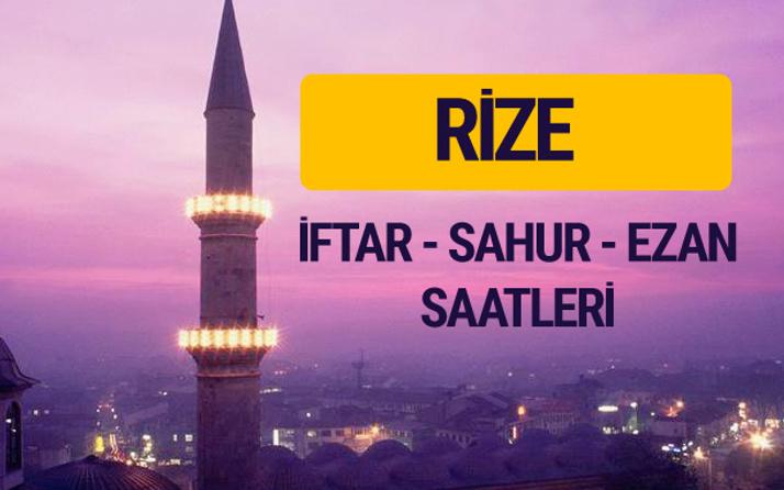 Rize iftar saati imsak vakti ve ezan saatleri