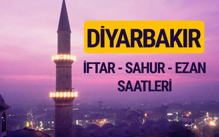 Diyarbakır iftar saati imsak vakti ve ezan saatleri