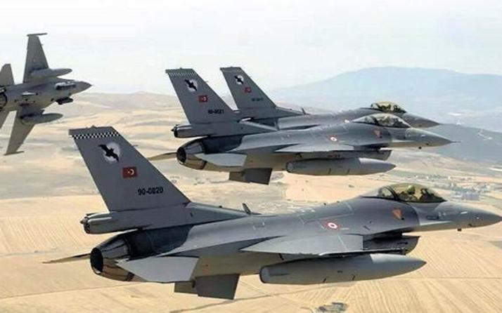 Türk jetleri PKK kamplarını bombaladı