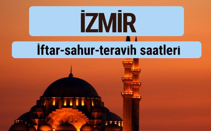 İzmir iftar ve sahur vakti ile teravih saatleri