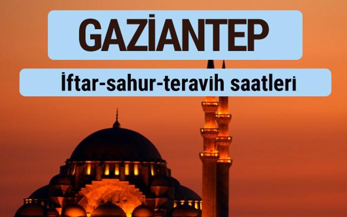 Gaziantep iftar ve sahur vakti ile teravih saatleri