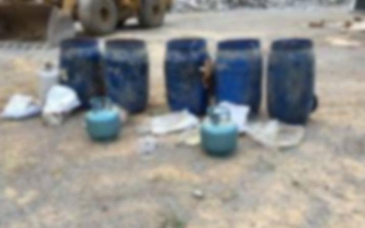 Teröristlerden patlayıcıya 'pul biberli' kamuflaj
