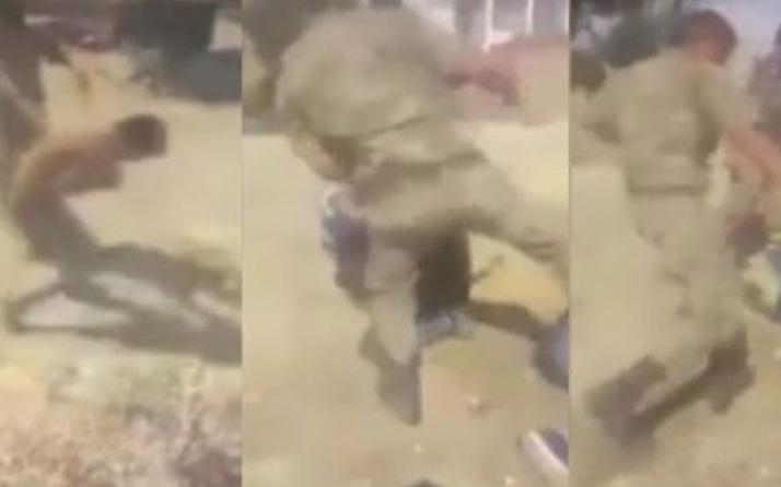 Suriyelileri darbeden 3 asker tutuklandı