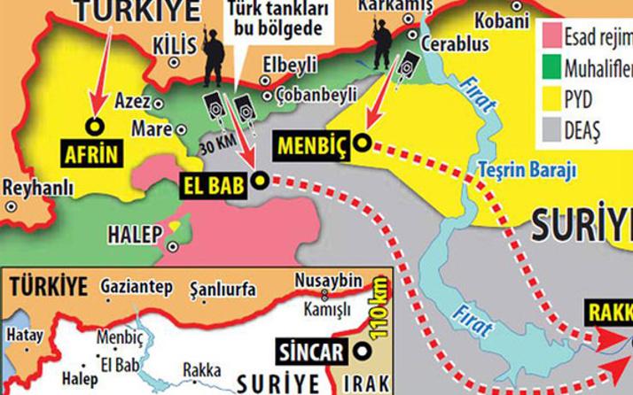 Son dakika Afrin ültimatomu! PYD'nin hayalleri yıkılacak