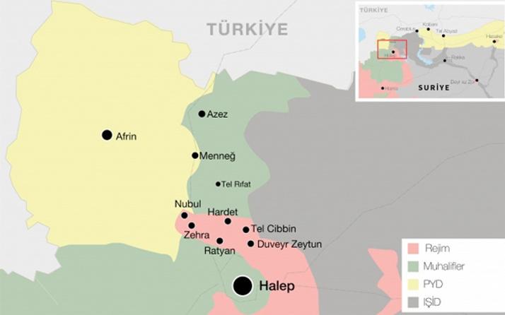 Afrin nerede operasyonu neden önemli? Haritasına bakın